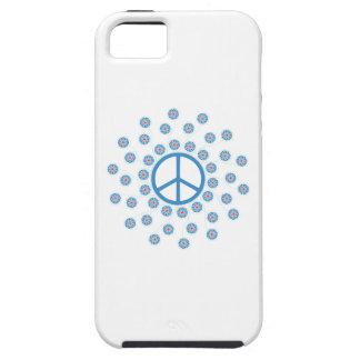Peace Sign Flowers iPhone SE/5/5s Case