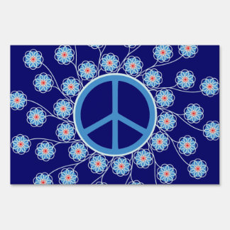 Peace Sign Flowers