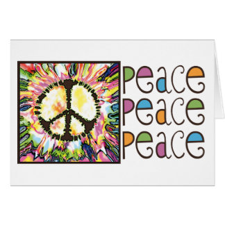 Peace Sign Gear by Mudge Studios Card