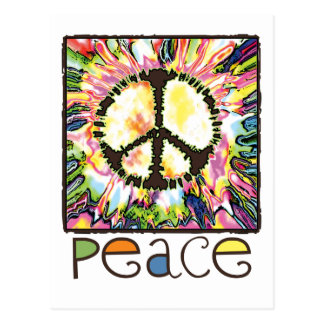 Peace Sign Gear by Mudge Studios Postcard