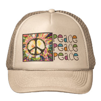 Peace Sign Gear by Mudge Studios Trucker Hat