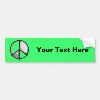 Peace Sign - Grunge Alternative Punk Bumper Sticker