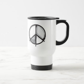 Peace Sign - Grunge Alternative Punk Travel Mug