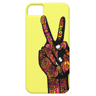 Peace Sign Hand iPhone 5/5S Covers