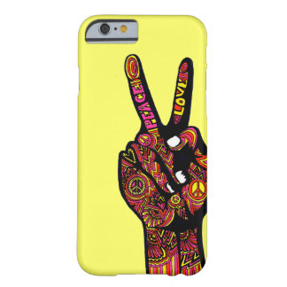 Peace Sign Hand iPhone 6 Case