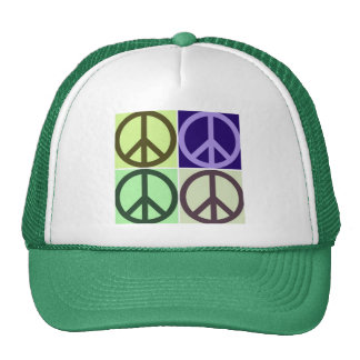 Peace Sign Trucker Hats