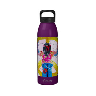 Peace Sign Hippie Water Bottles
