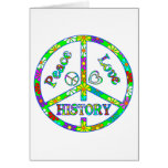 Peace Sign History Cards