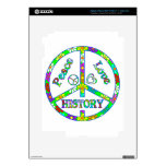 Peace Sign History Decal For iPad 3