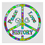 Peace Sign History Posters