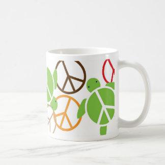 Peace Sign Honu Coffee Mug