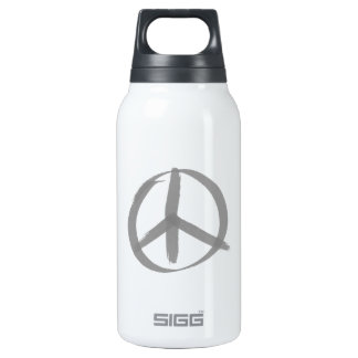 Peace Sign Insulated Water Bottle
