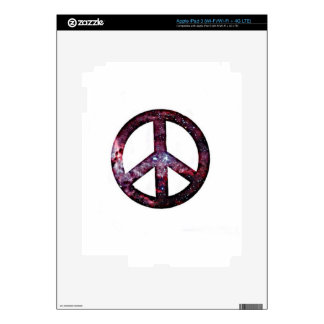 Peace sign iPad 3 skin