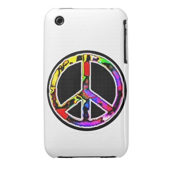 Peace Sign iPhone 3 Case-Mate Case