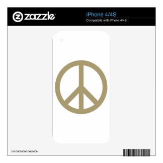 Peace Sign iPhone 4S Skin