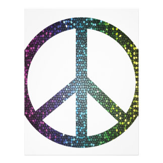 peace sign letterhead