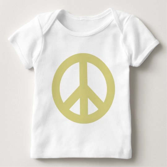 Peace Sign light Baby T-Shirt