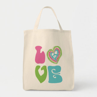 Peace Sign Love Bags