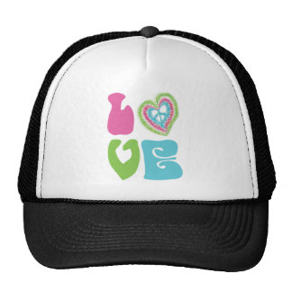 Peace Sign Love Trucker Hat