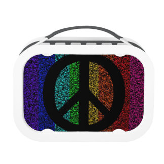 Peace Sign Yubo Lunch Box