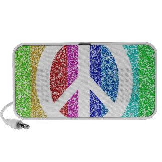 Peace Sign Mini Speaker