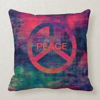 PEACE SIGN, MOJO AMERICAN PILLOW