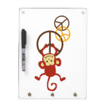 Peace Sign Monkeys Dry-Erase Whiteboards