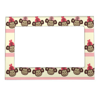 peace sign monkeys magnetic photo frame - Monkey Picture Frame