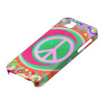 Peace Sign, Moon, Stars & Everything iPhone 5 Case