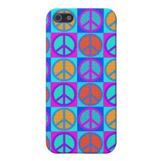 peace sign motif  IPhone 4 iPhone SE/5/5s Case