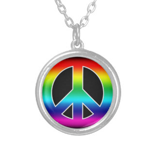 Peace Sign Necklace