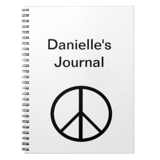 """""""Peace Sign"""" Notebook"""