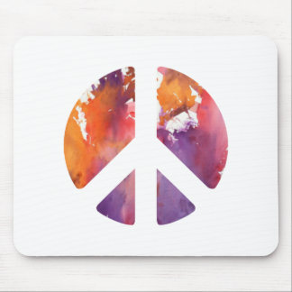 Peace Sign Pastel Mouse Pads