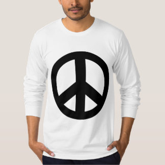 Peace Sign Peace Symbol Black T-Shirt