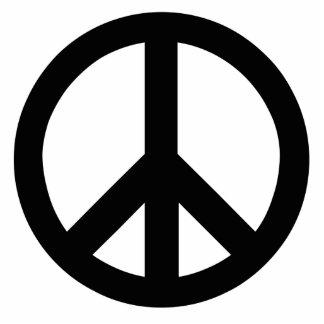 Peace Sign Photo Sculptures