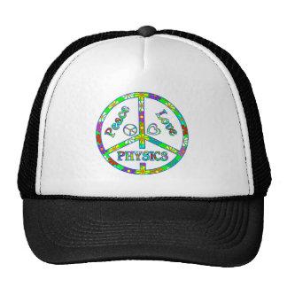 Peace Sign Physics Mesh Hat