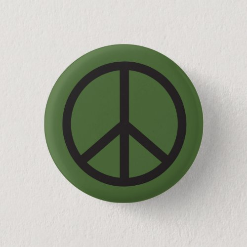 Peace Sign Pinback Button
