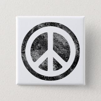 Peace Sign Pinback Button
