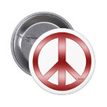 Peace Sign Pinback Buttons