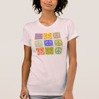 Peace Sign Pink T-Shirt  - MORE Colors Available