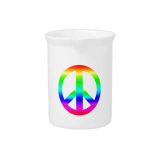 Peace Sign Pitchers