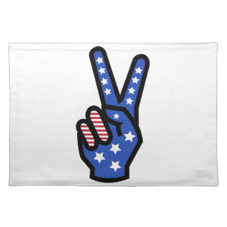 Peace Sign Placemats