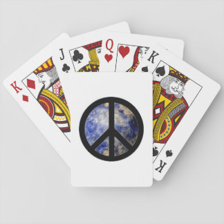 Peace Sign Playing Cards