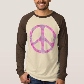 Peace sign polka dots pop art T-Shirt