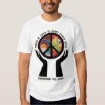 Peace Sign Polo- SHS Go Green T-shirt