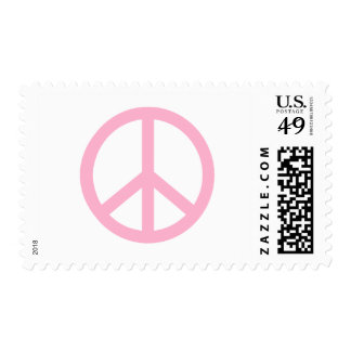 Peace Sign Postage Stamp