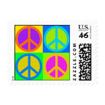 PEACE SIGN POSTAGE STAMPS