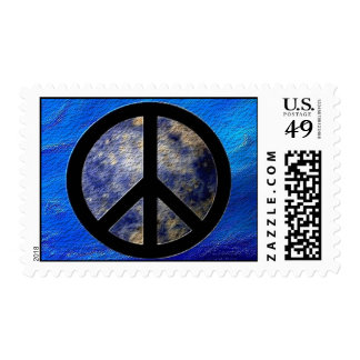 Peace Sign Postage Stamps BlogBlast4Peace