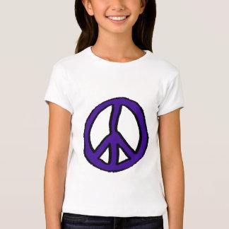 Peace Sign Purple - T-Shirt