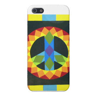 Peace Sign Quilt Block Cover For iPhone SE/5/5s